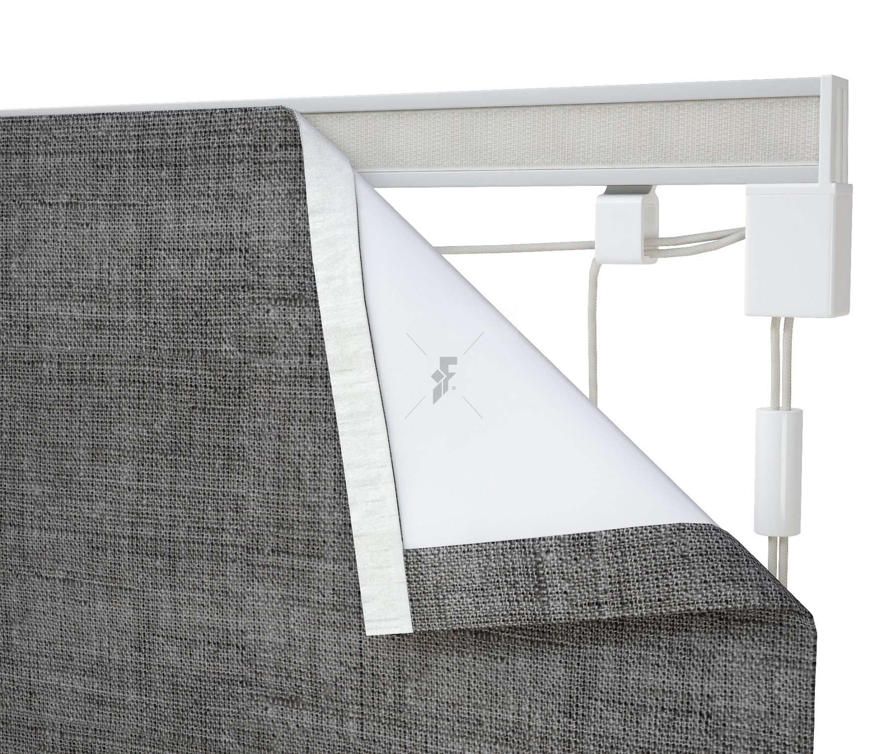corded roman blind kit silver ready made blinds blinds