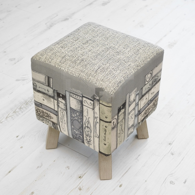 Voyage Maison Toby Footstool - Library Books