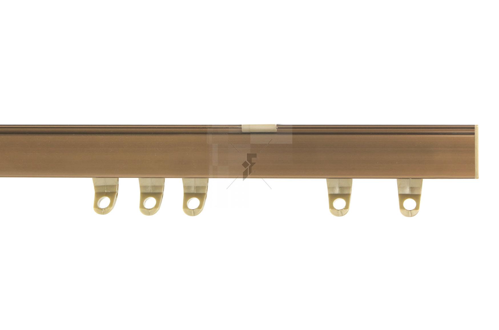 Fineline Track  - Antique Brass