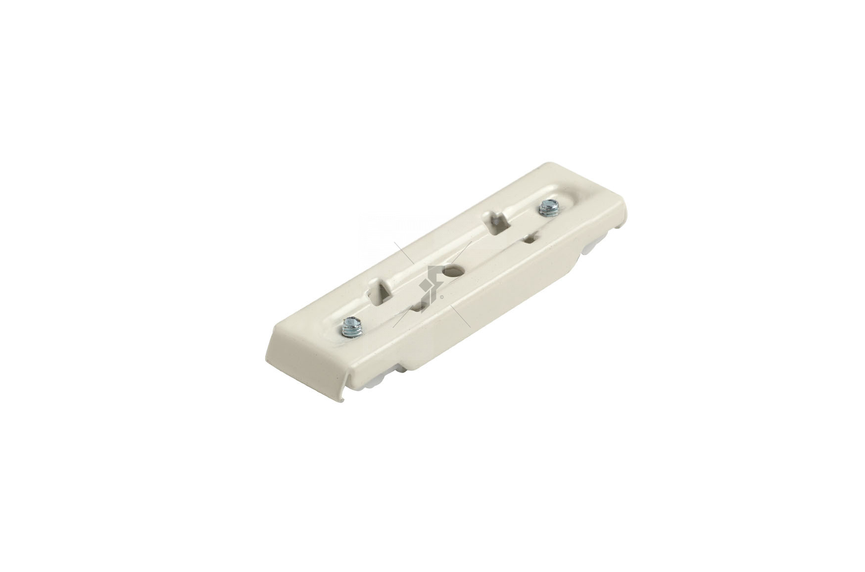 Double Fineline Top Fix Supports Pk4 - White