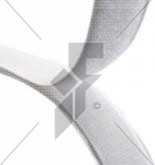 "Stick-On Hook Velcro (White) 25mm (1"") - Price Per Metre"