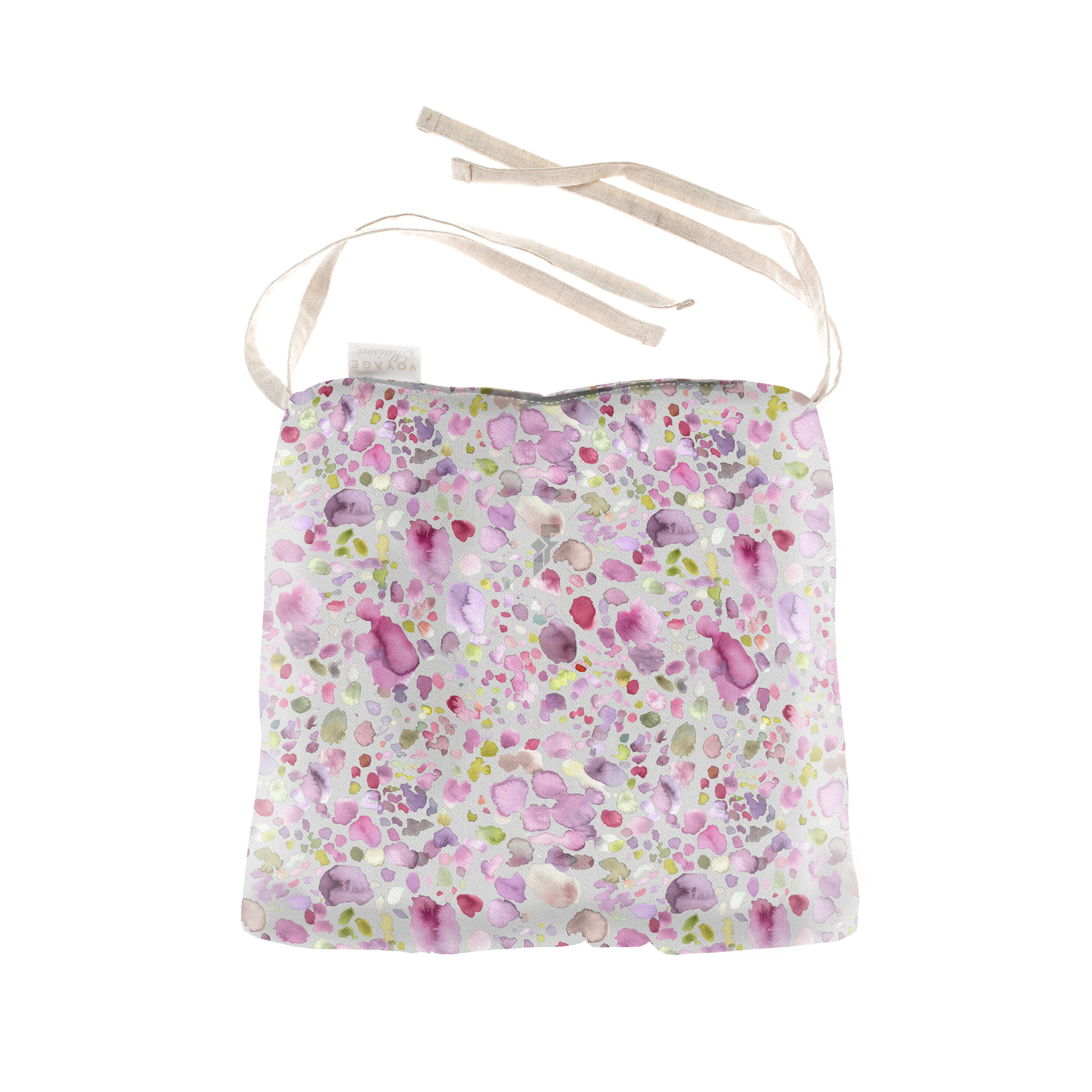 Voyage Maison Sprinkles Raspberry Cushion Seat Pad
