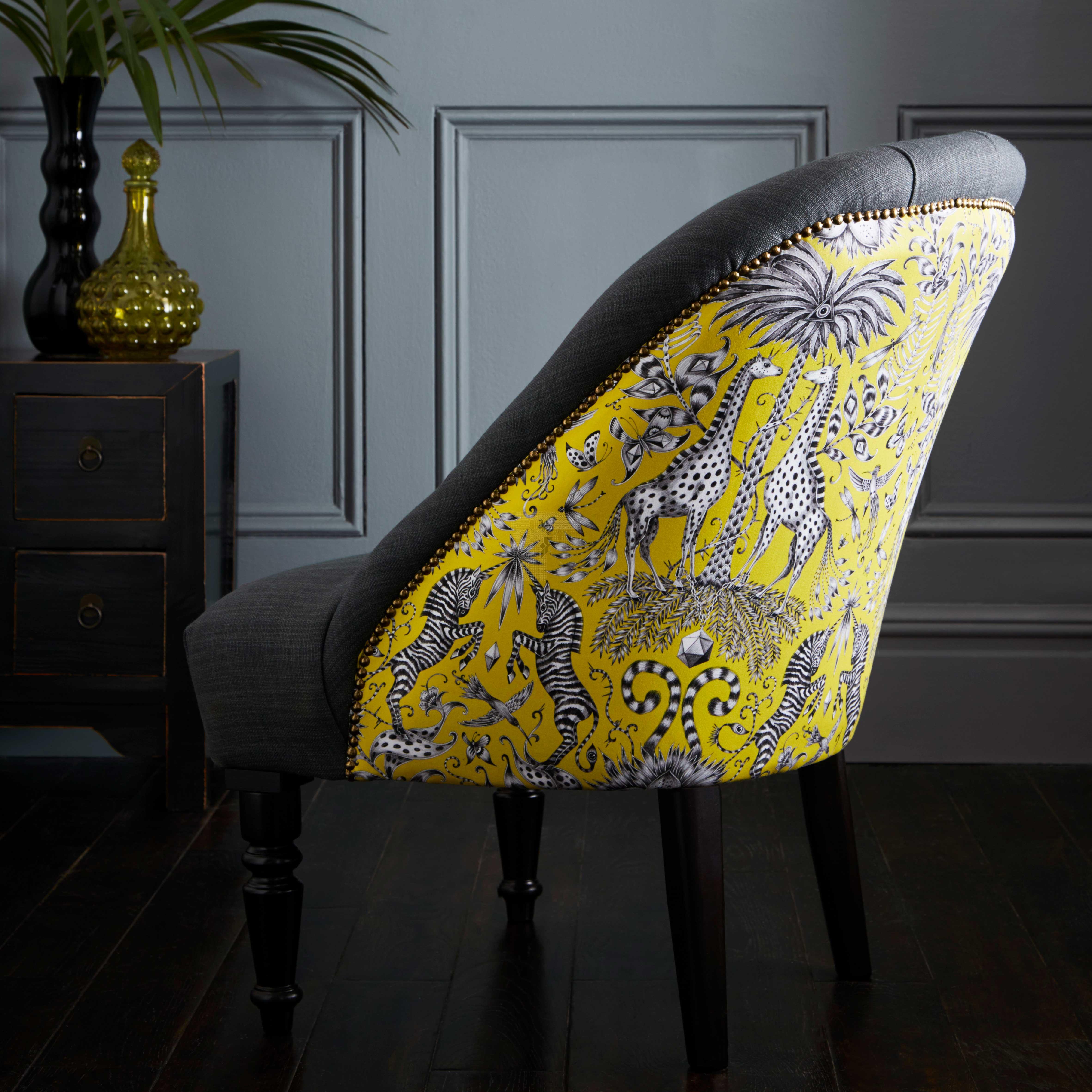 Emma J Shipley Kruger Lime Soho Chair