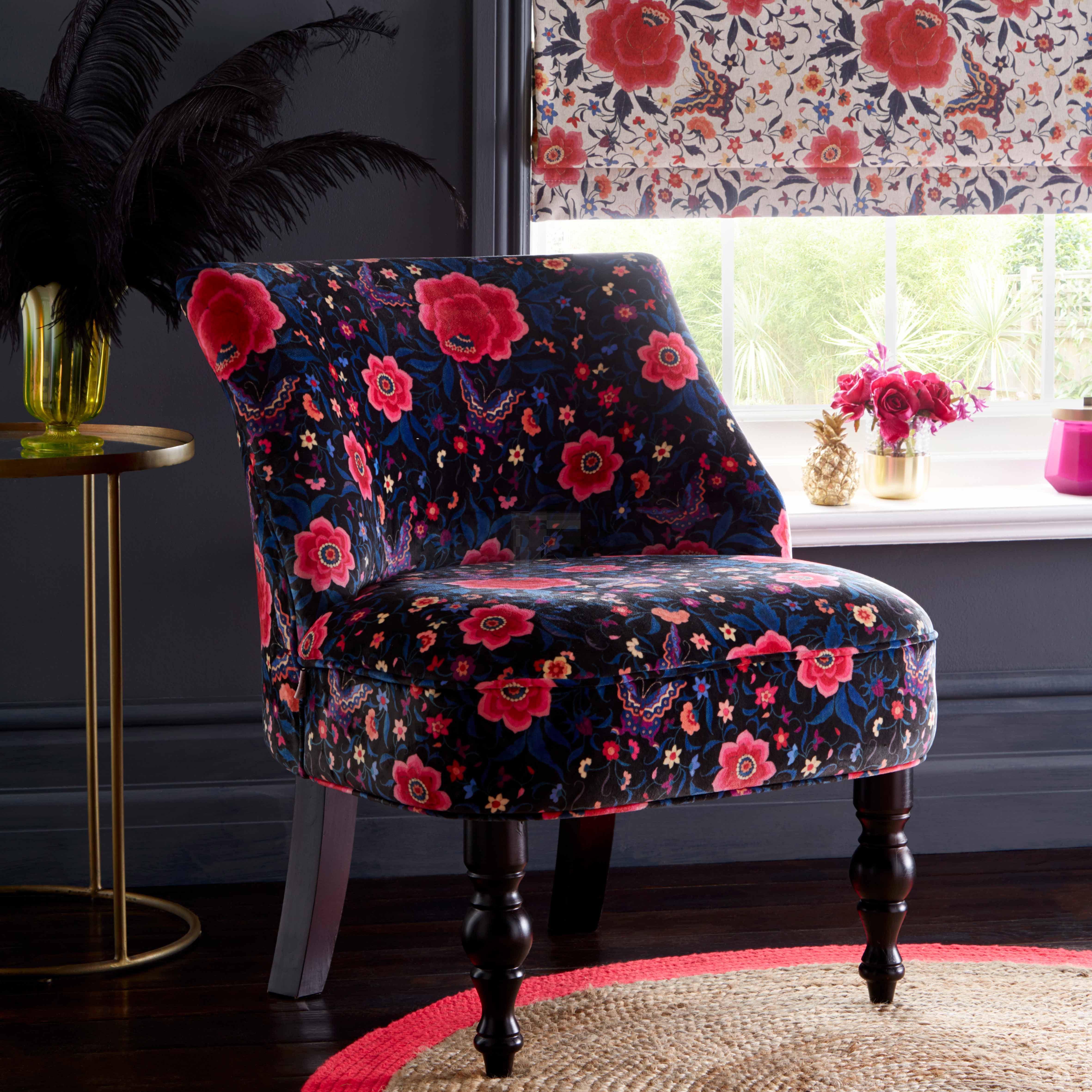 Oasis La Habana Black Langley Chair