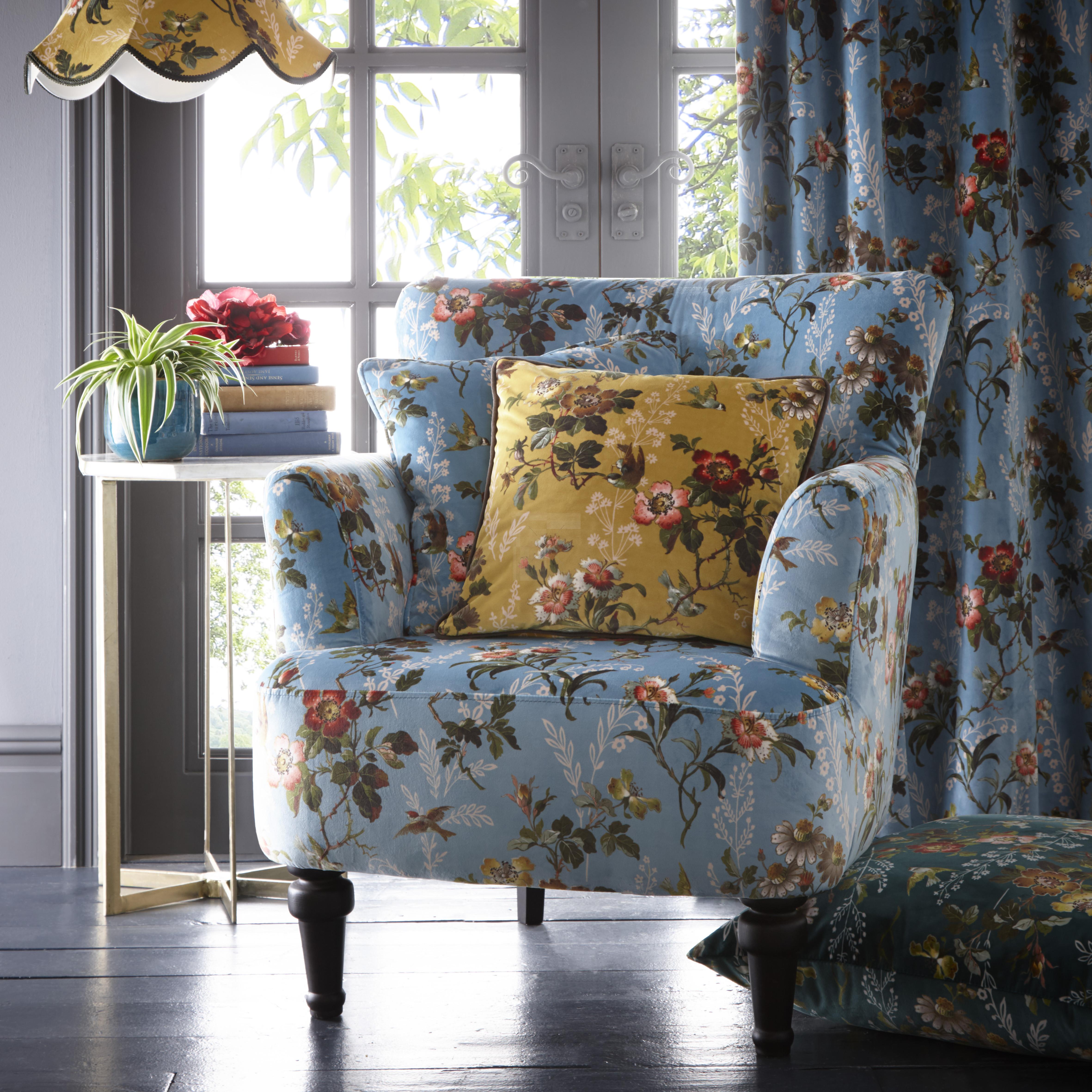 Oasis Leighton Blue Dalston Chair
