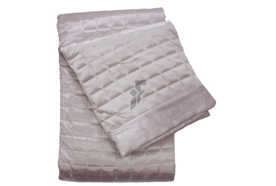 Quilted Squares Shell Throw