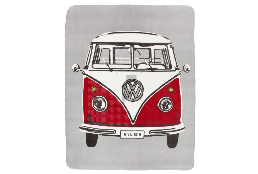 Volkswagen Retro Van Throw - Multi