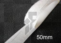 "Sew-On Loop Velcro (White) 50mm (2"") - Price Per Metre"