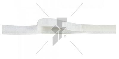 """Sew-On Hook Velcro 1"""" (25mm) - White"""