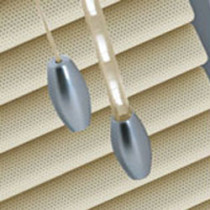 Perforated 25mm - Cream