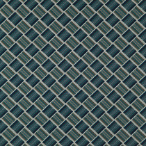 James Brindley Larkin Fabric - Cambridge Blue