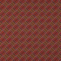 James Brindley Larkin Fabric - Vermillion
