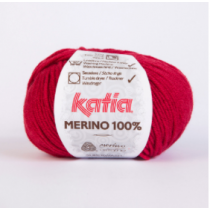 Katia Merino 100% - Colour Rubi 24