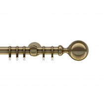 28mm Ares Pole Set - Antique Brass