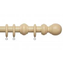28mm County Wood Pole Set - Cream