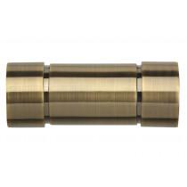 28mm Poles Apart Aspect Finial Pk2  - Antique Brass