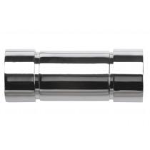 28mm Poles Apart Aspect Finial Pk2  - Chrome