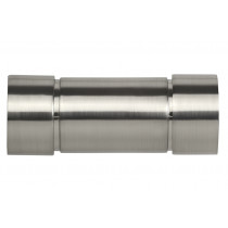 28mm Poles Apart Aspect Finial Pk2  - Satin Silver