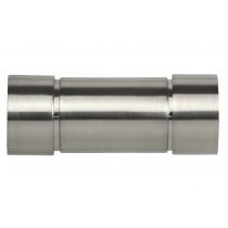 28mm Poles Apart Aspect Finial Pk2  - Satin Silver
