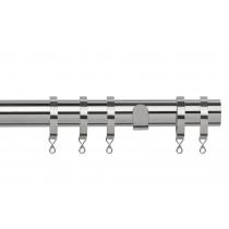 28mm Poles Apart Fixed Pole  - Chrome