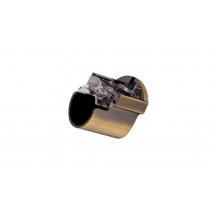28mm Recess Support Pk2 - Antique Brass