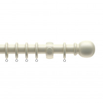 28mm Victory Wood Complete Pole Set - White