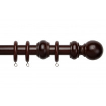 28mm County Wood Pole Set - Chestnut