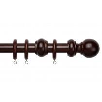 28mm County Wood Pole Set - Chestnut