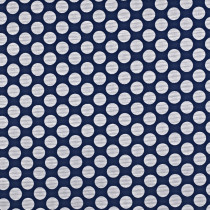 Interior Fabrics Annis Fabric - Navy