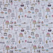 Interior Fabrics Arlais Fabric - Marshmallow