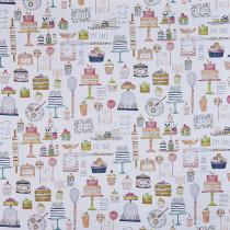 Interior Fabrics Arlais Fabric - Marmalade