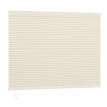 25mm PVC Slat Venetian Blind 200cm Drop - Cream