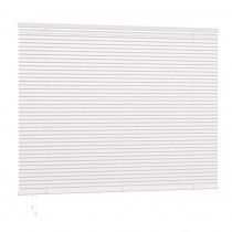 25mm PVC Slat Venetian Blind 160cm Drop - White