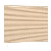 25mm PVC Slat Venetian Blind 200cm Drop - Natural