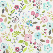 Interior Fabrics Aziza Fabric - Rose