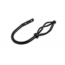 19mm County Crown Holdback Pk2 - Black