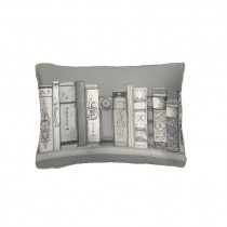 Voyage Maison Library Books 25 x 35cm Cushion - Natural