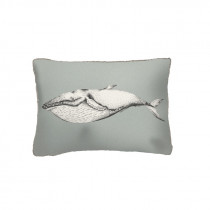 Voyage Maison Humpback Whale 25 x 35cm Cushion - Natural