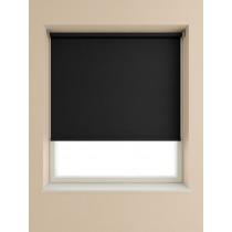 Blackout Roller Blind 175cm Drop - Black