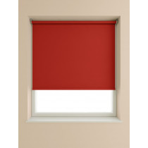 Blackout Roller Blind 175cm Drop - Deep Red