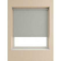 Blackout Roller Blind 175cm Drop - Light Grey