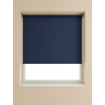 Blackout Roller Blind 175cm Drop - Navy