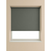 Blackout Roller Blind 175cm Drop - Slate