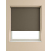 Interior Fabrics Custom Roller Blind - Chocolate