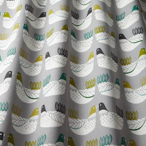 iLiv Cluck Cluck PVC Fabric - Kiwi