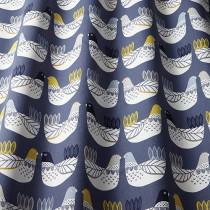 iLiv Cluck Cluck PVC Fabric - Ochre