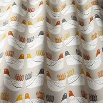 iLiv Cluck Cluck PVC Fabric - Tangerine