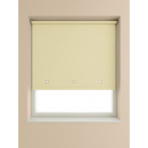 Eyelet Roller Blind 190cm Drop - Cream