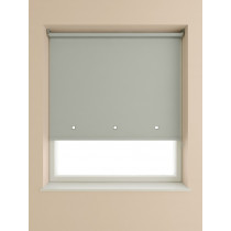Eyelet Roller Blind 190cm Drop - Light Grey