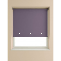 Eyelet Roller Blind 190cm Drop - Plum